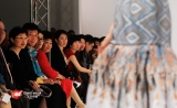 2011 London Fashion Week, Chinese Ambassador to the UK Liu Xiaoming(third from left)